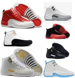 $enCountryForm.capitalKeyWord Canada - High Quality 12 12s OVO White Gym Red Master Basketball Shoes Men Women the master Taxi Blue Suede Flu Game Olive Canvas Sneakers