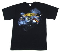 $enCountryForm.capitalKeyWord UK - Boston Space Guitars Black T Shirt New Official Band MerchFunny free shipping Unisex Casual Tshirt