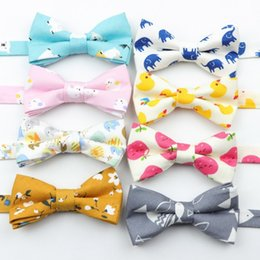dog tuxedos NZ - Classic Baby Kid Bow Ties Boy Children Pre Tie Tuxedo Bowties Pet Dog Cat Duck Fish Necktie Butterfly