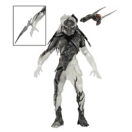 predator figures UK - NECA Falconer Predators Falconer Predator PVC Action Figure Collectible Model Toy with Removable Waist Blade