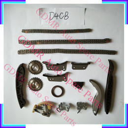 engine timing Australia - Auto Engine parts D4CB timing chain kit for Hyundai H1 H200 Starex Porter 2497CC 2.5CRDI