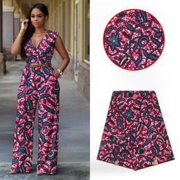 nigerian fabric prints 2019 - Nigerian Lace Fabrics  African Cotton Print Ankara High Quality Hollandais Wax 2019 africain super wax hollandais cheap