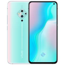 Original Vivo S5 4G LTE Cell Phone 8GB RAM 128GB ROM Snapdragon 712 Octa Core 6.44 inches Full Screen 48MP Fingerprint IDSmart Mobile Phone