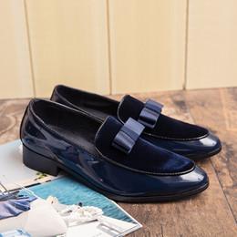 high end pointed men shoes 2019 - New style men's pointed shoes, suede high-end men's shoes, banquet, party, wedding, black gentlemen's sho
