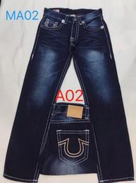 $enCountryForm.capitalKeyWord Australia - Wild true religions men Brand Fashion brand mens clothing Washed Hole Riding jeans true luxury Micro-bomb Slim pants man cowboy hot pants 44
