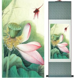 $enCountryForm.capitalKeyWord Australia - Lotus Flower Painting Water Lily Painting Chinese Wash Painting Home Decoration No.32107