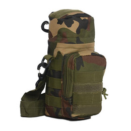 Molle water bottle pouches online shopping - New Oxford Cloth D Camping Sports Water Bag New Outdoor Tactical Molle System Water Bottle Bag Kettle Pouch Holder