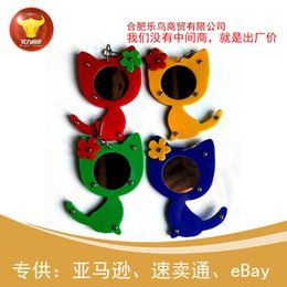 rat toys Canada - Parrot Articles Bird Mirror Parrot Toys Bird Toys Parrot Will Mirror Cartoon Kitty Mirror