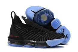 578f93040fd0 2019 New Arrival LeBron 16 Sample Mens Basketball Shoes for Good Black  White Red Men Athletic J16s Sports Sneakers Size 40-46