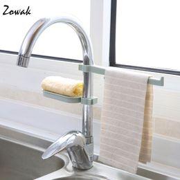 $enCountryForm.capitalKeyWord Australia - 1pc Sink Hanging Storage Rack Storage Holder Sponge Bathroom Kitchen Faucet Clip Dish Cloth Clip Shelf Drain Dry Towel