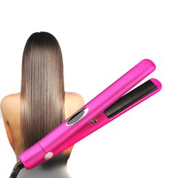 panels infrared UK - Straight Roll Steam Straighteners Thermostatic Dual Use Straightener Ceramic Tourmaline Panel Negative Ion Infrared Ion Hair Care