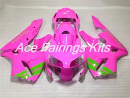 $enCountryForm.capitalKeyWord Australia - Custom New Injection mold Full fairing kit Fit for Honda CBR600RR 03 04 ABS plastic fairings set CBR 600RR F5 2003 2004 Pink Green
