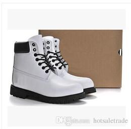 $enCountryForm.capitalKeyWord NZ - Cowboy Martin Boots Genuine Leather Men Women White Snow Boots Cheap Fashion Brand Shoe Cowboy Outdoor Shoes Brand Classical Sports Gear