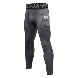 $enCountryForm.capitalKeyWord Australia - Stretch Compression Pants Men Tight Long Sport Trousers Fitness Gym Athletic Patchwork Color Man Sweat Running Leggings Sexy