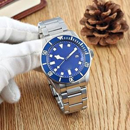 Blue Box Auto Australia - 4 styles luxury watch 40mm PELAGOS 25500TN 25600TN 25600TB Automatic watch Stainless steel bracelet Box papers mens watches watch watches