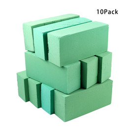 $enCountryForm.capitalKeyWord UK - 10Pcs Floral Foam Blocks, Brick Flower Holder Florist Flower Styrofoam Green Bricks applied Dry or Wet for Artificial Flowers