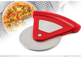 $enCountryForm.capitalKeyWord Australia - Pizza Cutter Wheel Chopper Slicer Peel Knives Pastry Tool Super Sharp and Easy To Clean Slicer with Protective Blade Guard Stainless Steel
