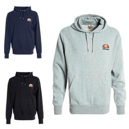 392e6e8ae5591c Original sweatshirts online shopping - Ellesse Mens Designer Hoodies Cotton  Black Grey Navy Original Men Sports