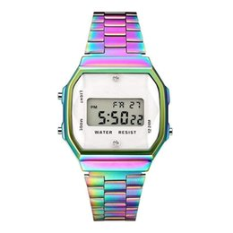 $enCountryForm.capitalKeyWord Australia - Fashion Colorful LED Watch Classic Woman Multifunction Watch Man Business Electronic Digital Watches Party Festival Gift TTA1155