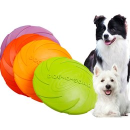 $enCountryForm.capitalKeyWord Australia - New Interactive Dog Chew Toys Resistance Bite Soft Rubber Puppy Pet Toy for Dogs Pet Training Products Dog Frisbie Flying Discs
