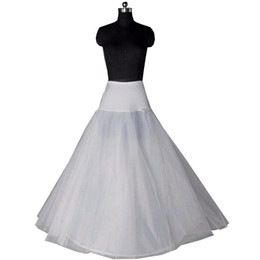 Wedding Dress Full Petticoat Australia - 2019 A line Hot Sale Ball Gown Bone Full Crinoline Petticoats For Wedding Dress Wedding Skirt Underskirt
