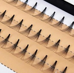 Eyelashes Extensions Set Australia - 1 Set 0.07c 10d Women False Eyelashes Wave Individual Eyelash Extension Of Black Soft Natural False Eye Lashes Makeup Tools