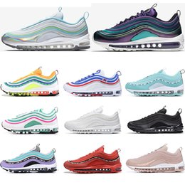 White Rose Day Australia - 2019 Running Shoes Court purple South Beach Barely Rose Triple White Black Have a day Mens womens Trainer Sports Sneaker Size 36-45