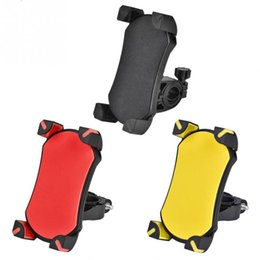Wholesale Bike Bicycle Universal Cell Phone Holder Motorcycle Handlebar Mount Bracket Handle Phone Support For quot Cell Phone GPS