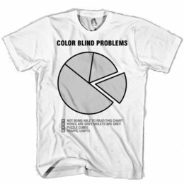 1f8e65e0 Color Blind Problems Funny Men's Women's T Shirt Short Sleeve T Shirt 2018  Newest Men'S Funny Top Tee