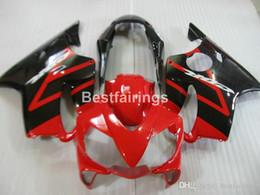 $enCountryForm.capitalKeyWord Australia - Injection moto parts fairing kit for Honda CBR600 F4I 04 05 06 07 red black fairings set CBR600 F4I 2004-2007 IY29
