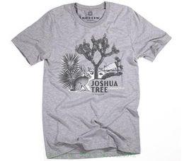 Опт Новый 2018 Летний стиль футболки Superluxetrade; мужские старинные Джошуа дерево Национальный парк Tri-blend футболка