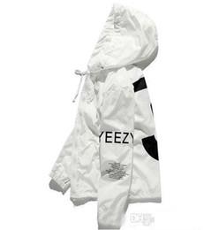$enCountryForm.capitalKeyWord NZ - Free freight Y3 YEEZUS hip hop Jacket KANYE Windbreaker TOUR Men Women Fashion uniform coat black White Jacket