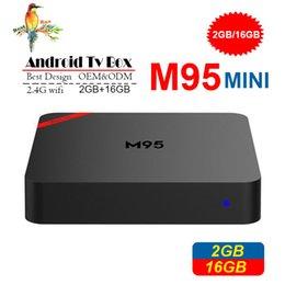 Media Player Australia - New M95 MINI Android 7.1 TV Box Allwinner H3 Quad Core 1GB 8GB 2GB 16GB 4K H.265 1080P media players better MXQ PRO RK3229 X96 MINI S905W