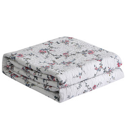 $enCountryForm.capitalKeyWord NZ - Cotton Small floral Quilt Quilted Bedspread Quilts Bed Cover Sheets Coverlet Bedding Bed Sheet Bedcover Summer Duvet Quilt #sw