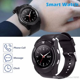 $enCountryForm.capitalKeyWord Australia - V8 Circular PK U8 DZ09 A1 GT08 Square Bluetooth Android Smart Watch Support Camera MTK Chip Micro Sim TF Card Smartwatch For Cell phone