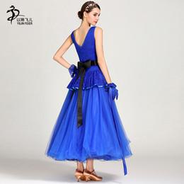 4b94c4cd7 Dancing Dresses Australia - 2019 Women Standard Ballroom Dance Dresses  Modern Waltz Ballroom Dance Competition Dress
