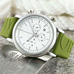 Hombres Reloj de Cuarzo Nueva Llegada Todos los Subdiales Trabajo AR Correa de Goma Relojes Deportivos Moda de Lujo Ropa Casual Reloj Masculino Montres pour hommes en venta