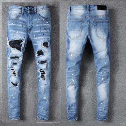 Men new fashion jogging pants online shopping - Mens Designer Pants New Style Casual Skinny Sweatpants Mens Designer Jeans Drop Crotch Jogging Pants Mens Jeans