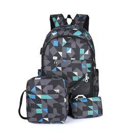 0fdd4439b Backpack Fashionable Bag Leisure Fashion Boys Men Middle Junior High School  College Student Shoulder Bag Purse Bags Backpacks