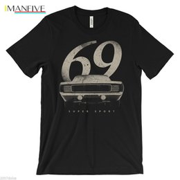 muscle cars NZ - 2019 Newest Men'S Funny Vintage 1969 Chevy Camaro - American Muscle Car, 68, 69, 1968, SS, 60s, Retro Shirts