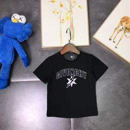 Venta al por mayor de Tela de porcelana de hielo caliente de manga corta para niños de la marca de moda callejera 2019 El algodón es muy delicado y se puede enrollar cómodamente.