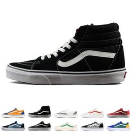 7e6612bf4e Men Van Shoes Australia - 2019 Original YACHT CLUB Vans old skool FEAR OF  GOD black