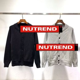 $enCountryForm.capitalKeyWord NZ - Designer Mens luxury sweatshirts new couple simple button cotton round neck knit cardigan fashion casual sweater