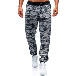 $enCountryForm.capitalKeyWord Australia - Fashion Men's Sport Jogging Camouflage Pant Casual Sweatpants Drawstring Pants streetwear hip hop camo Pants men high quality
