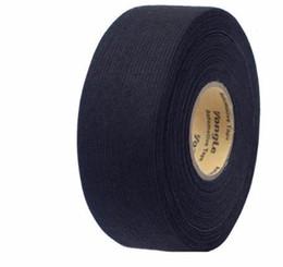 Universal Wire Cloth Australia - 32mmx20m Universal fabric Cloth Tape automotive wiring Black Flannel Car Self Adhesive Felt Tape