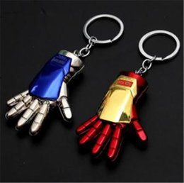 stone keyrings wholesale NZ - 19styles Avengers Captain America Keychain Superhero Star Shield Pendant Keyring Car Key Chain Accessories Batman Marvel Key Chain 04 jssl01