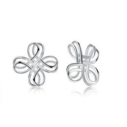 $enCountryForm.capitalKeyWord NZ - S925 Sterling Silver Stud Earring Back Screw Back Geometric Handmade Twist Ear Drop Luxury Gold Plated Jewelry China Knots Wedding POTALA027