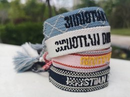 Wholesale Fashion Knotting Tassel and Cotton Bracelets A Best gift for Friendship day also for Birthday and Christmas with gift bag