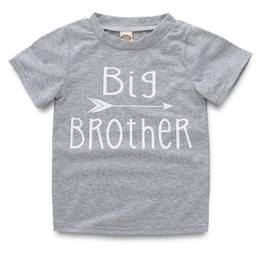 09da2a4b1 Big Brother shirts online shopping - Baby Kids Girls Boy Short Sleeve  Cotton T shirts Top