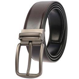 $enCountryForm.capitalKeyWord Australia - 2019 Casual Men Belts Designers Fashion Men Belt Trending Trousers Waist Straps Good Quality Cow Leather Belts 110-130CM Men's Belt